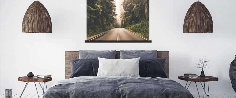 5 trendy schilderijen voor boven bed
