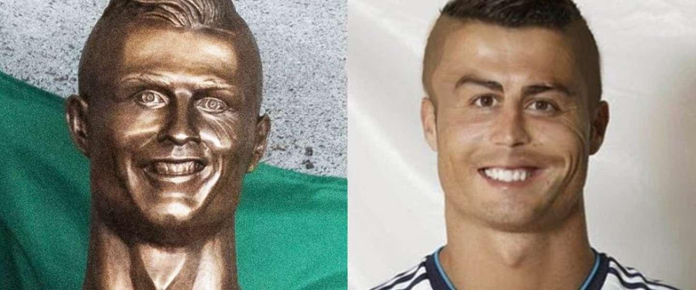 Het internet gaat los op het beeld van Ronaldo