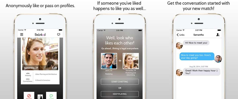BeLinked: Tinder voor LinkedIn