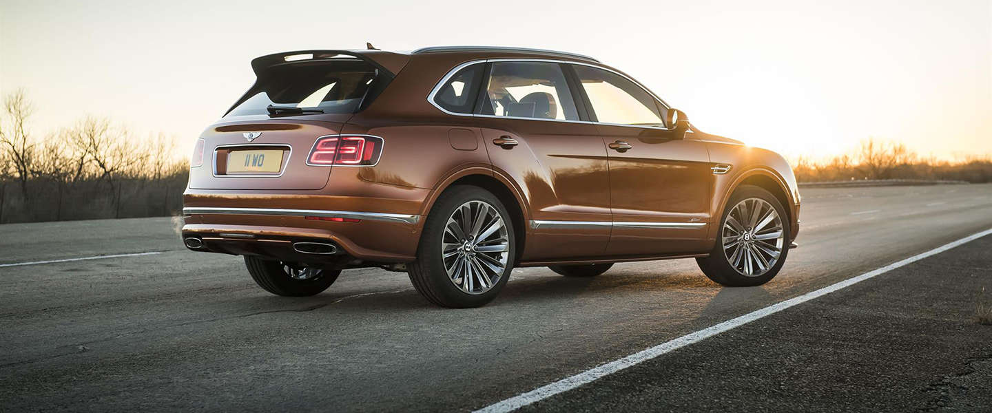 Bentley Bentayga Speed is 's werelds snelste SUV
