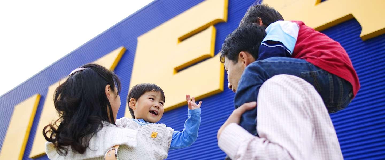 IKEA laat klanten spullen afrekenen met tijd