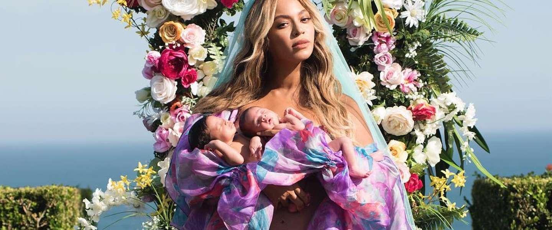 Eindelijk: de eerste foto van de tweeling van Beyoncé
