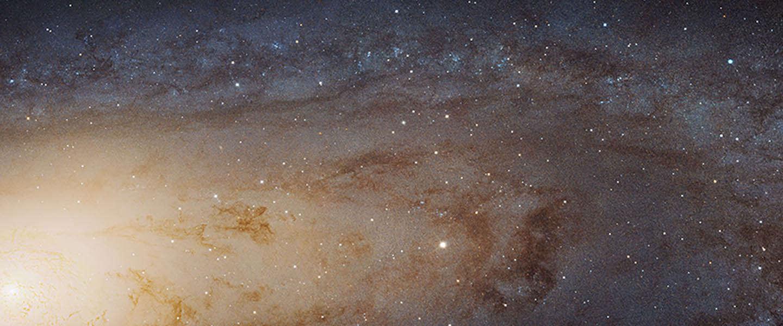 NASA geeft grootse foto ooit vrij: bestaande uit 1,5 miljard pixels