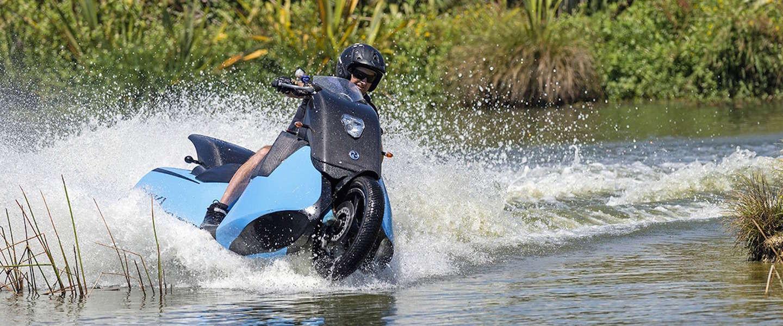 Biski: deze motor verandert in 5 seconden in een jetski