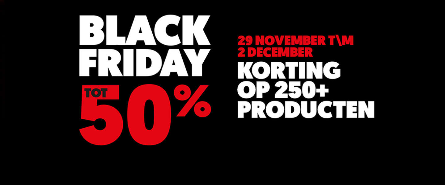 De beste Black Friday deals scoor je bij de MediaMarkt