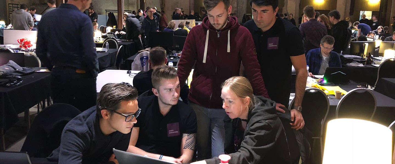 De grootste Blockchain Hackaton is gehouden in Groningen