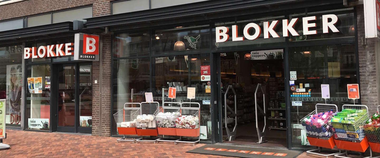 Blokker winkels te koop!