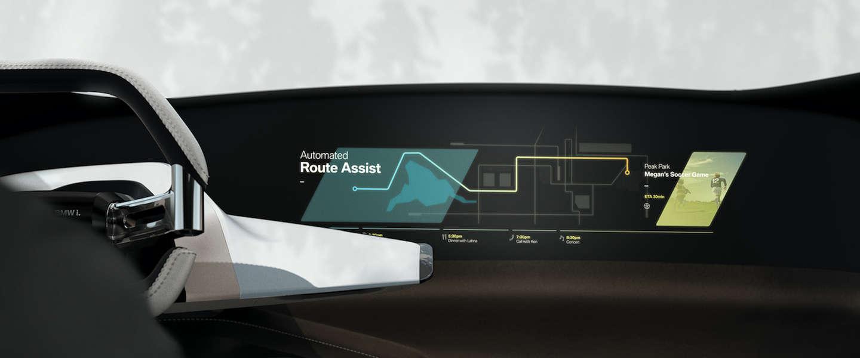 CES 2017: BMW komt met zwevend display geprojecteerd naast het stuurwiel
