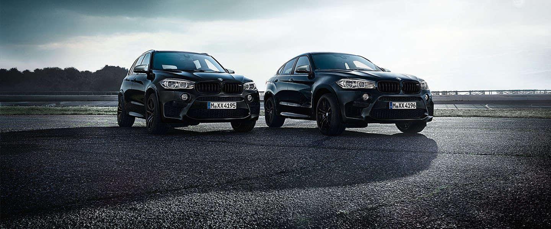 Black Fire Edition van BMW X5 M en X6 M is om te smullen!