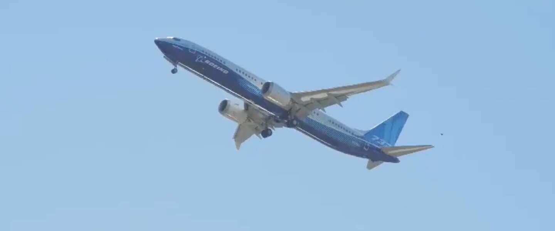 Eerste testvlucht van de Boeing 737 MAX 10