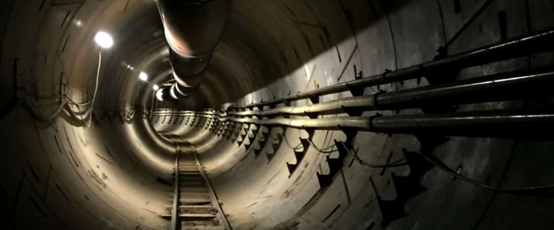 Musk's eerste Boring tunnel is af, wordt begin december getest