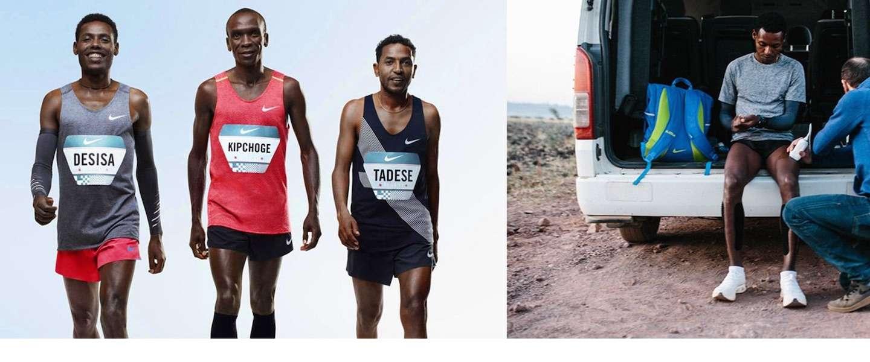 Breaking2: Nike doet begin mei aanval op het marathon-wereldrecord