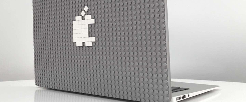 Deze MacBook case kun je personaliseren met LEGO