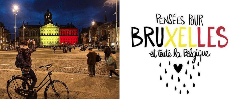 Belgische vlag gaat de wereld over via social media