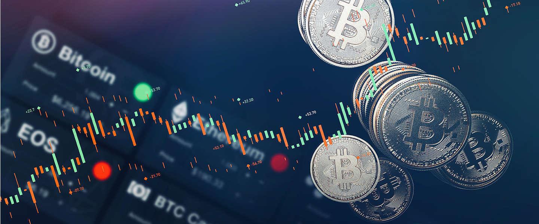 Waarde Bitcoin naar recordhoogte en scherpe daling in een weekend