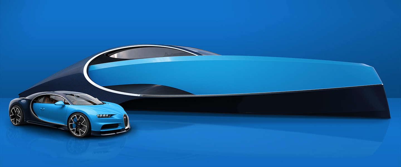 De Chiron van het water: dit Bugatti Niniette 66 luxury yacht kost slechts 4 miljoen
