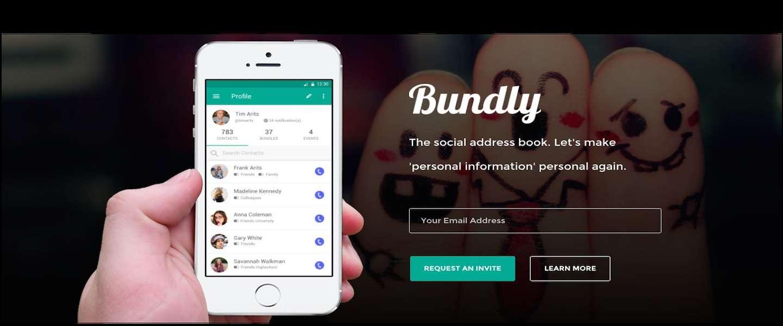 Bundly is je nieuwe online adresboek