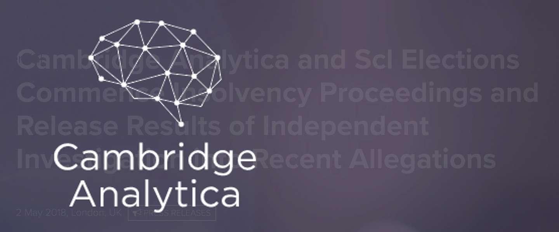 Cambridge Analytica failliet: wie zorgt dat de data niet verdwijnt?