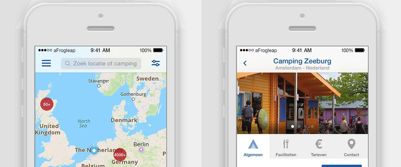 7.900 campings in je broekzak met de vernieuwde CampingApp