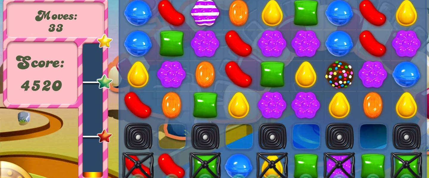 Candy Crush Saga pre-installed op Windows 10
