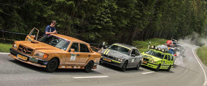 Grootste rally van Europa maandag van start: the Carbage run!