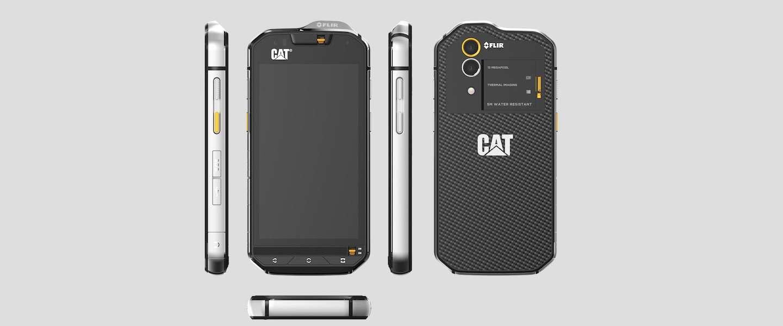 CAT S60: de eerste smartphone met een warmtecamera