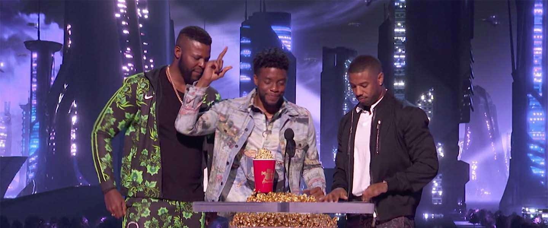Vier MTV Movie Awards voor Black Panther en Stranger Things