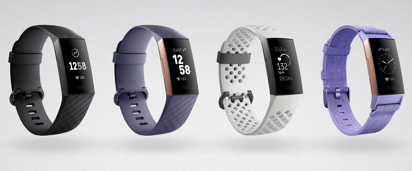 Fitbit introduceert Charge 3