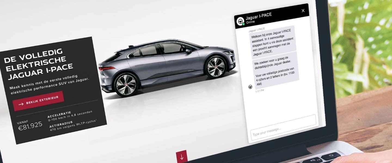Jaguar genereert 40% extra proefritaanvragen met innovatieve chatbot