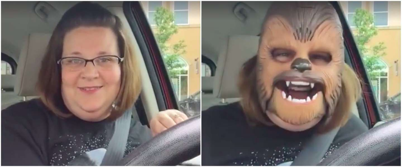 Grappige remix van Chewbacca-mom!