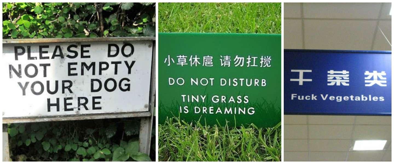 12 teksten die helemaal verkeerd vertaald zijn met Google Translate