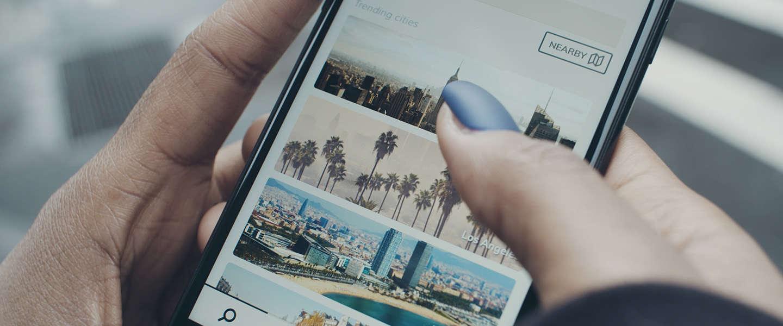 Deze nieuwe city exploring app tipt hotspots van je vrienden