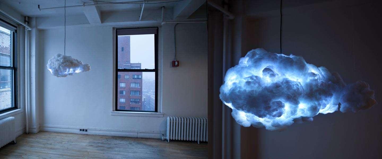 Een Interactieve Cloud Storm Lamp