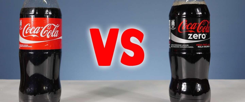 Coca-Cola en Coca-Cola Zero koken: je schrikt van het resultaat