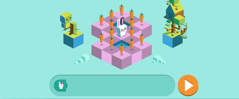 Kinderen leren programmeren in nieuwe Google Doodle