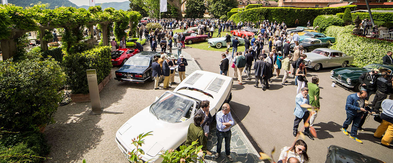 Het Concorso d'Eleganza Villa d'Este: flamboyante bolides aan het Comomeer