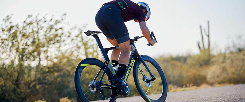 Twee speciale fietsen in de Tour de France