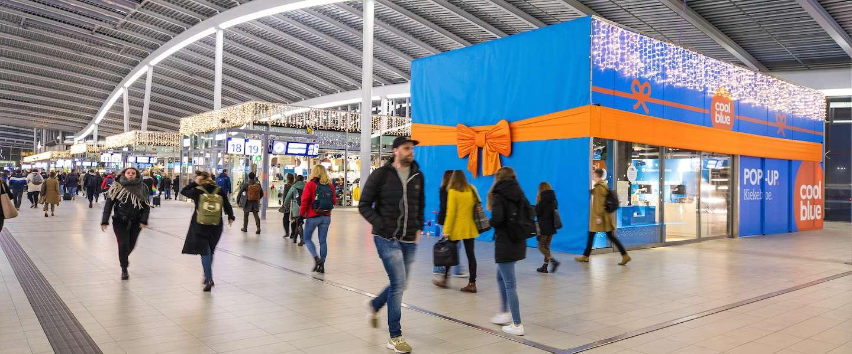 Coolblue opent pop-up winkel op Utrecht Centraal voor afhalen pakketjes