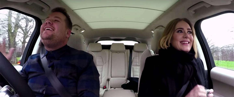 James Corden: Carpool Karaoke met Adele