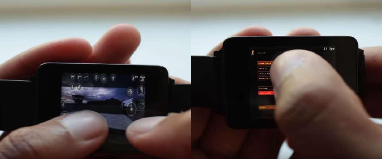 Je kunt nu Counter-Strike spelen op je Android Wear watch