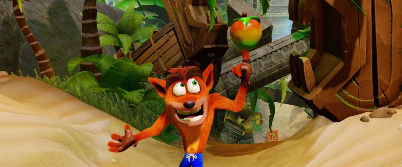 Mobiele game Crash Bandicoot gelekt