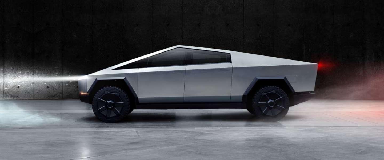 Tesla Cybertruck komt pas in 2022