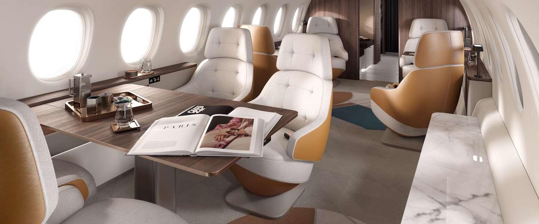 Zakenreis? Met dit ultraluxe nieuwe vliegtuig wordt je vlucht wel heel relaxed!