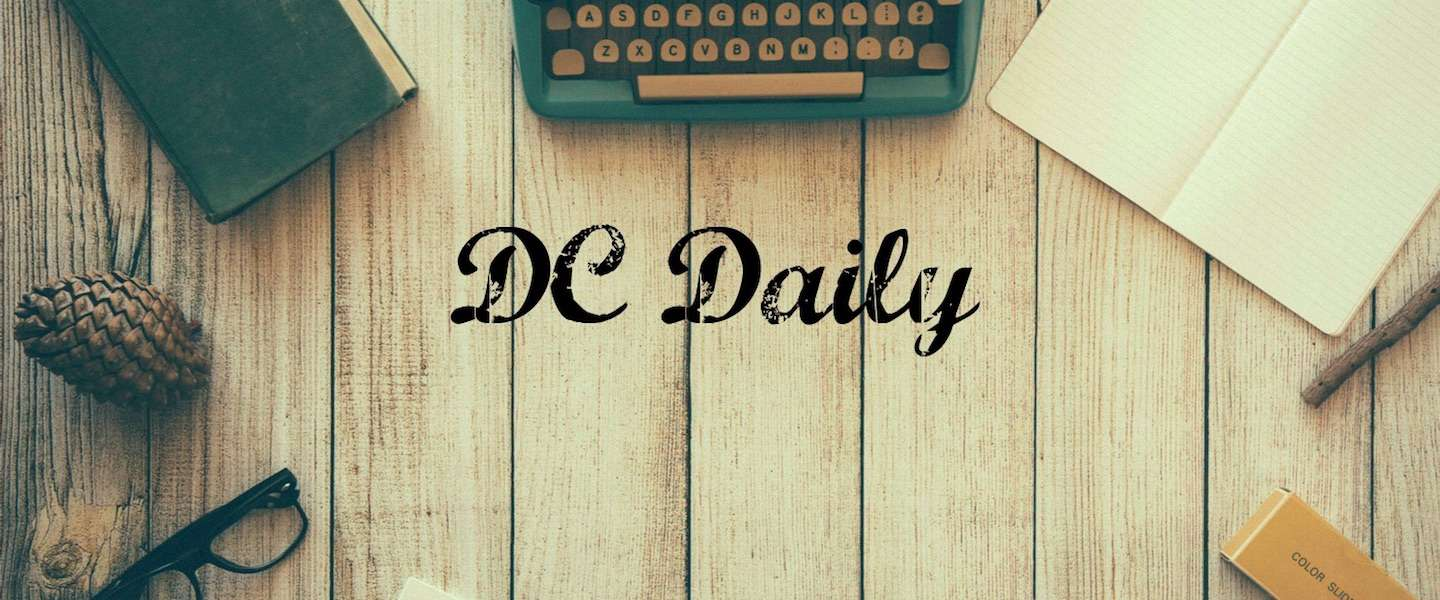 De DC Daily van 1 april 2016