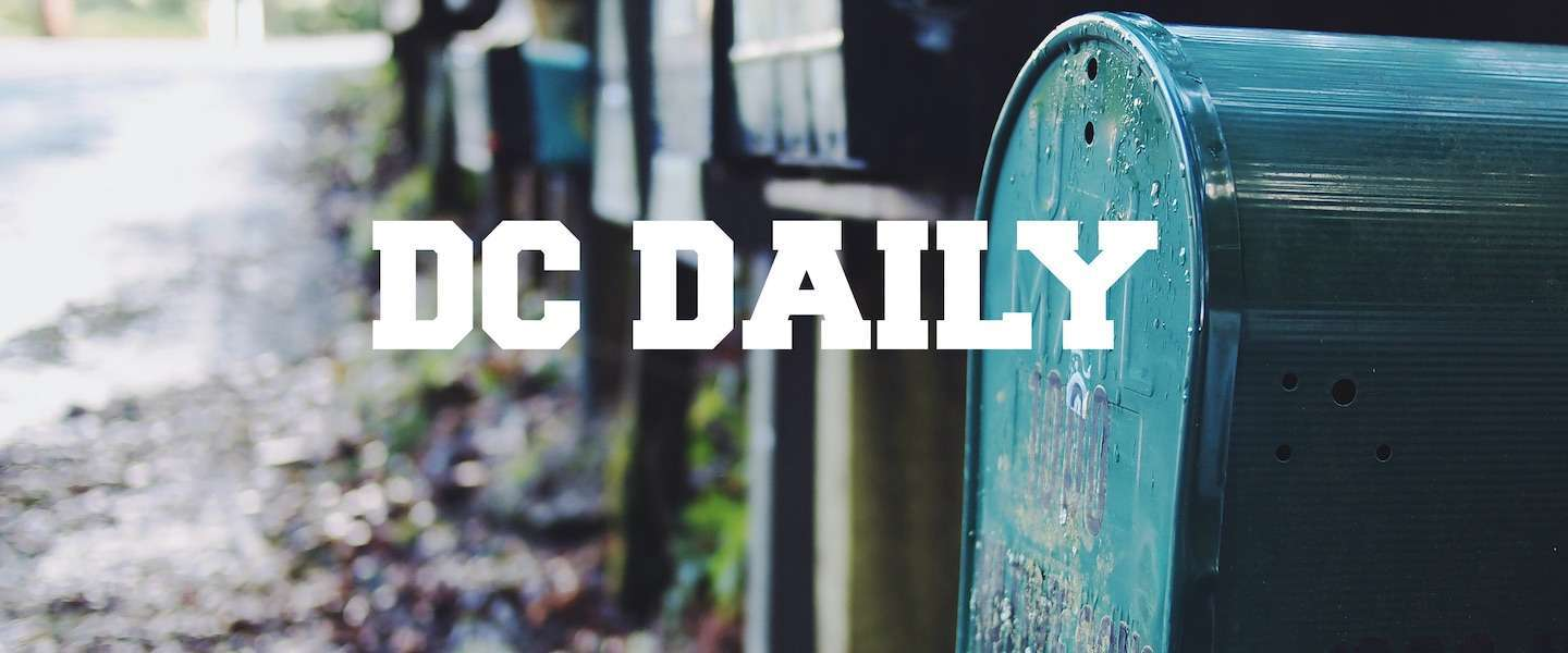 De DC Daily van 2 september 2016