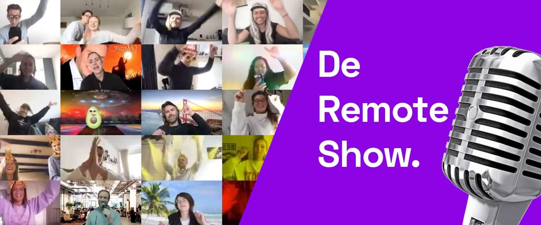 De Remote Show: boek een artiest voor virtuele meetings