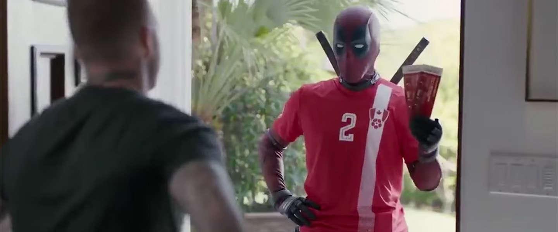 Ook Deadpool wrijft er nog even in dat Oranje het WK mist