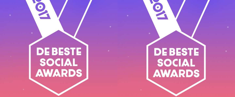 Dit zijn de prijswinnaars van de Beste Social Awards 2017