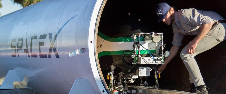 Hyperloop team TU Delft grijpt naast hoofdprijs in wedstrijd SpaceX