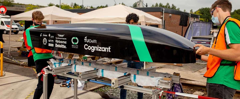 Delft Hyperloop zet nieuw snelheidsrecord neer: 360 km/h!